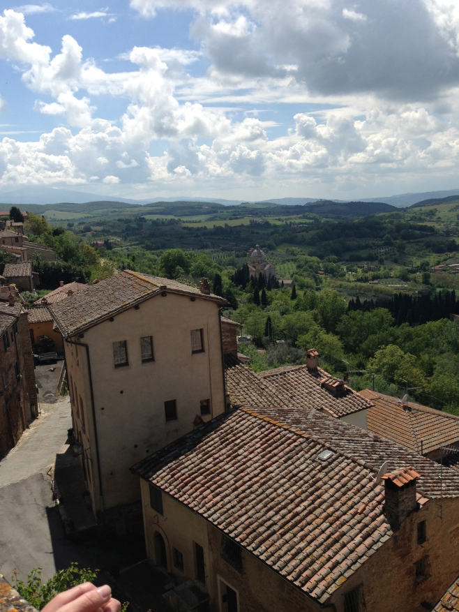 The Valley Below Montepulciano