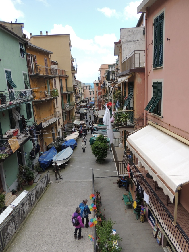 Downtown Manarola