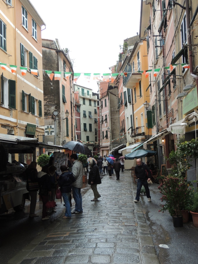 New Main Street in Vernazza