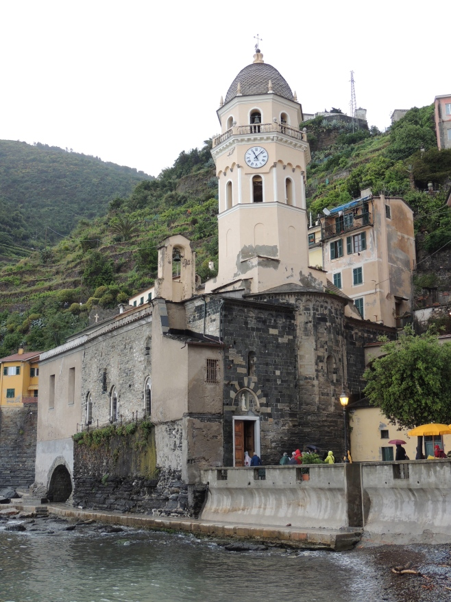 St Margherita Church, Vernazza Italy