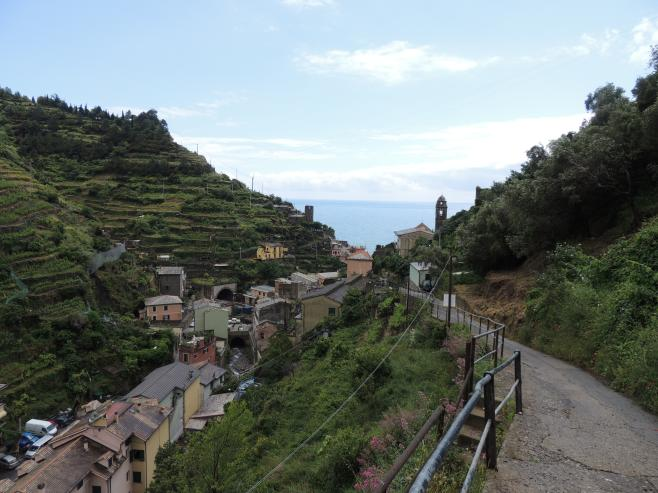 The Hiking Path above Vernazza