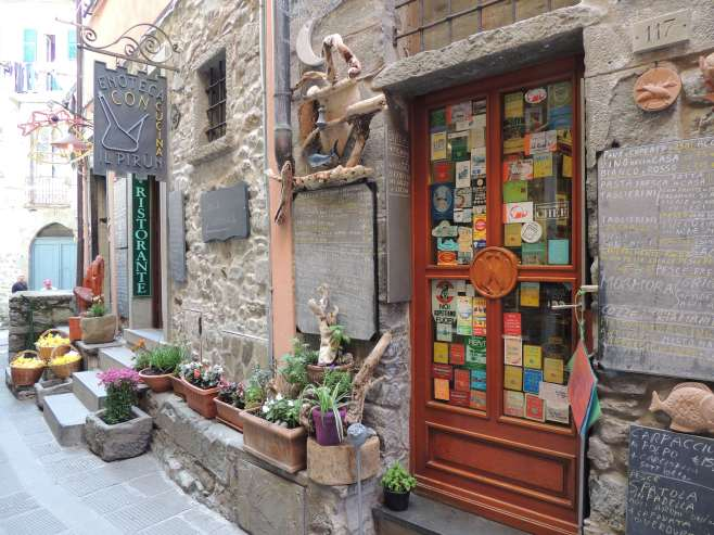 Shops in Corniglia