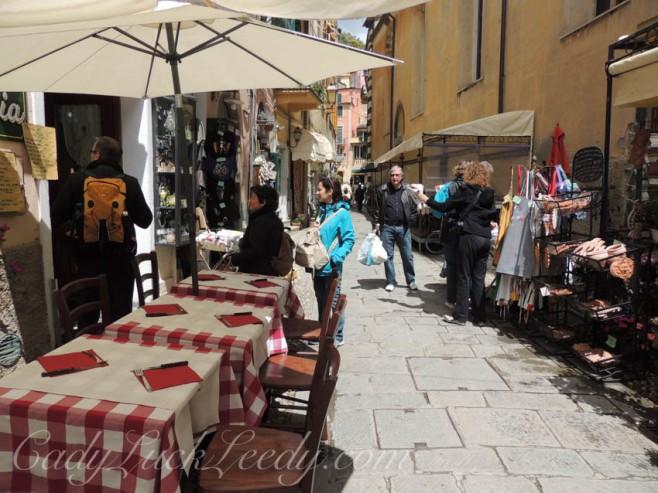 Outdoor Cafe in Monterosso Al Mare, Cinque Terre, Italy