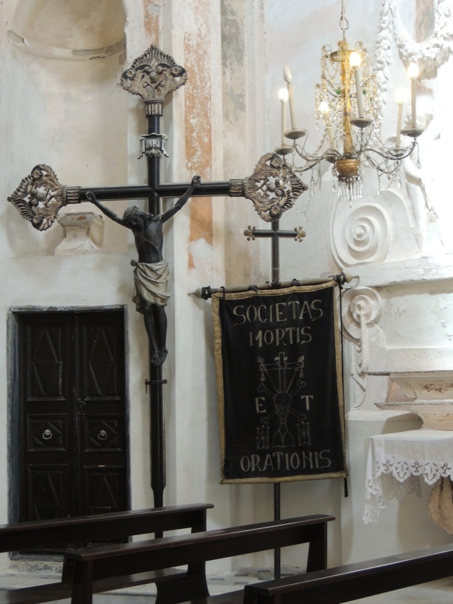 The Black Jesus in the Oratory of the Dead