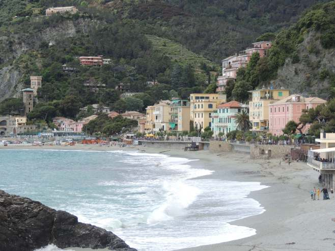 The Beach at Monterosso al Mare