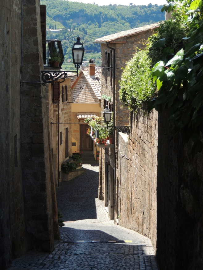 The Lanes of Orvieto