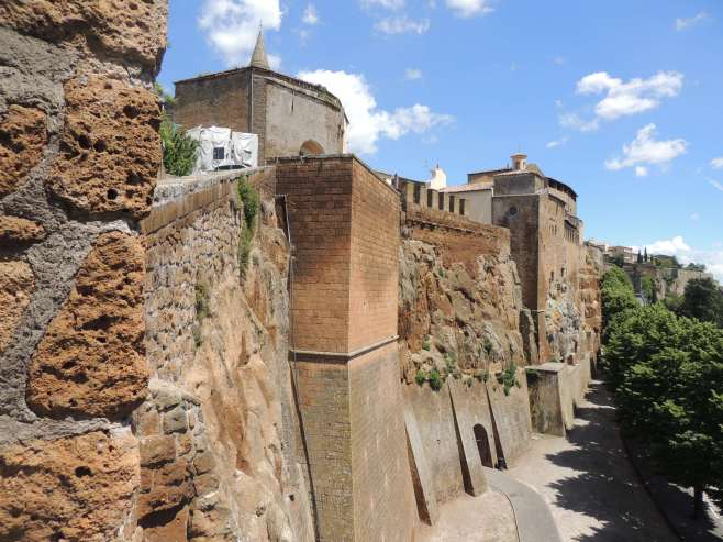 The Walls of Orvieto