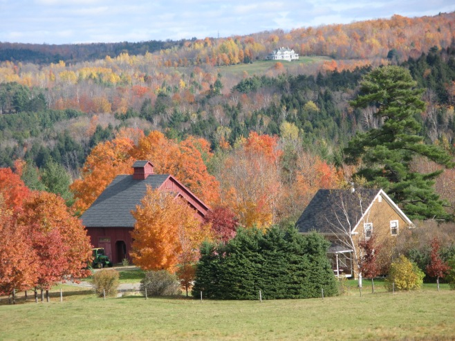 The Countryside in Quebec Canada