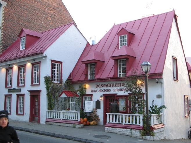 Aux Anciens Canadiens Restaurant