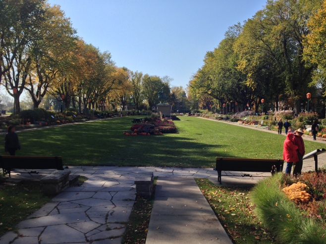 The Joan of Arc park and Garden