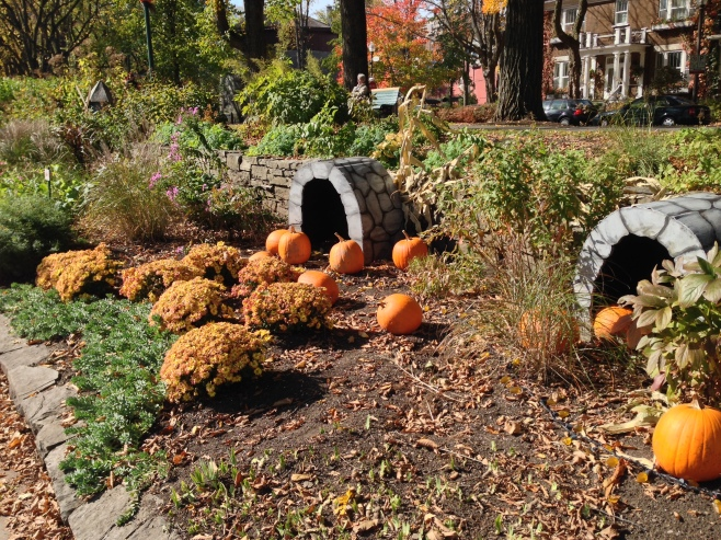 The Tunnel Pumpkins