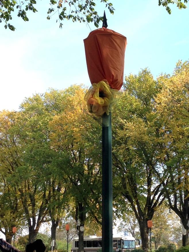 The Pumpkin Streetlight