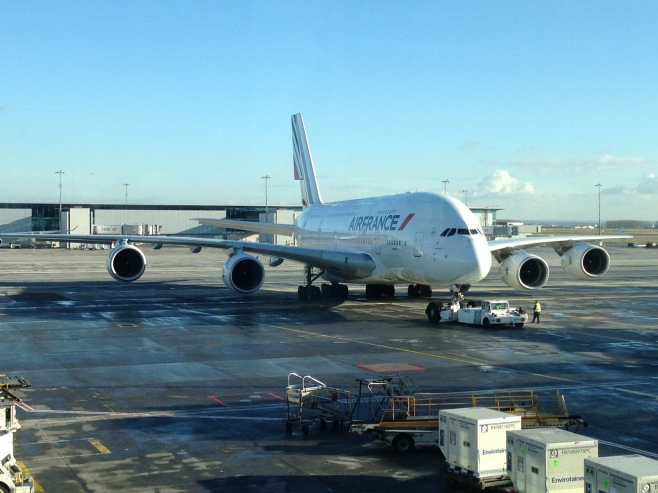 Another View of the AirFrance Airbus 380