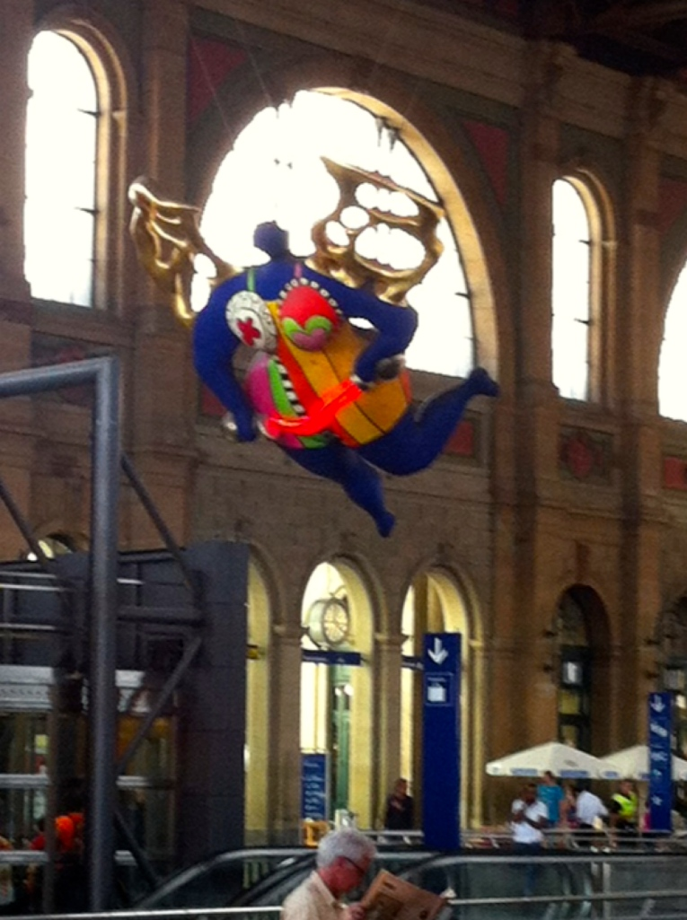 The Angel in the Train Depot