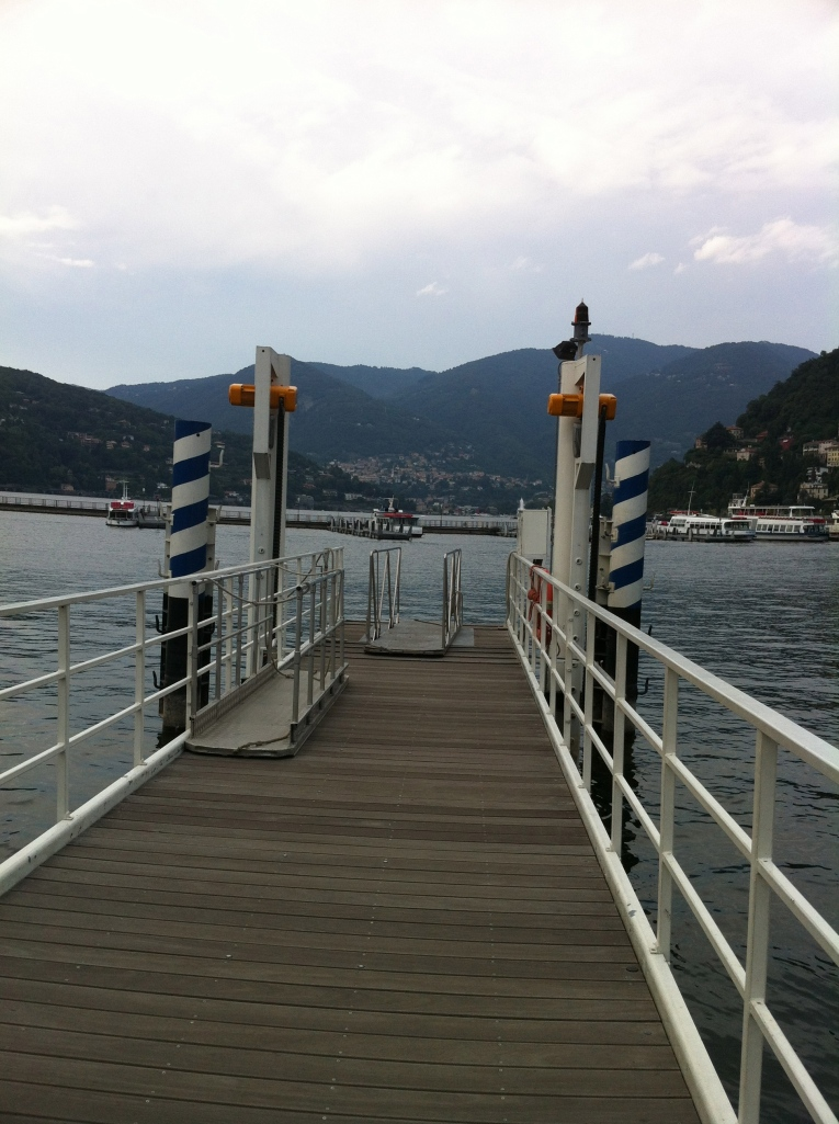 The Hydrofoil Dock in Como