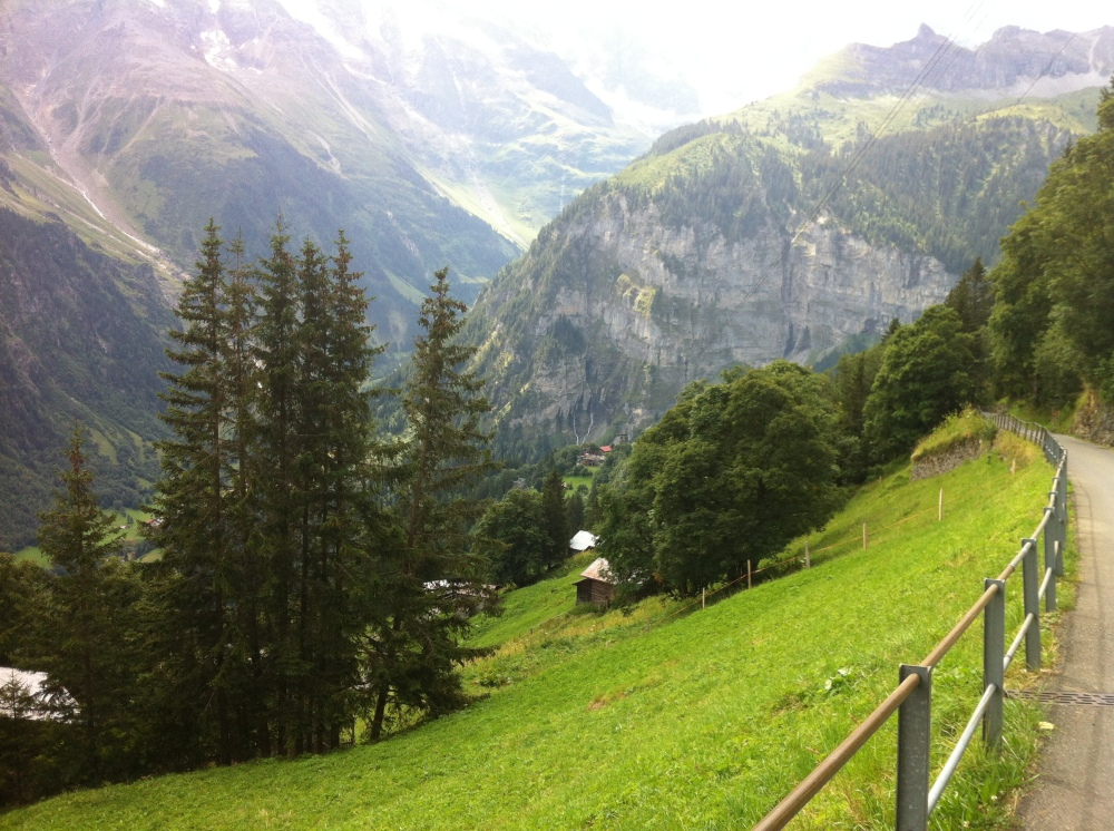 The Walk to Gimmelwald