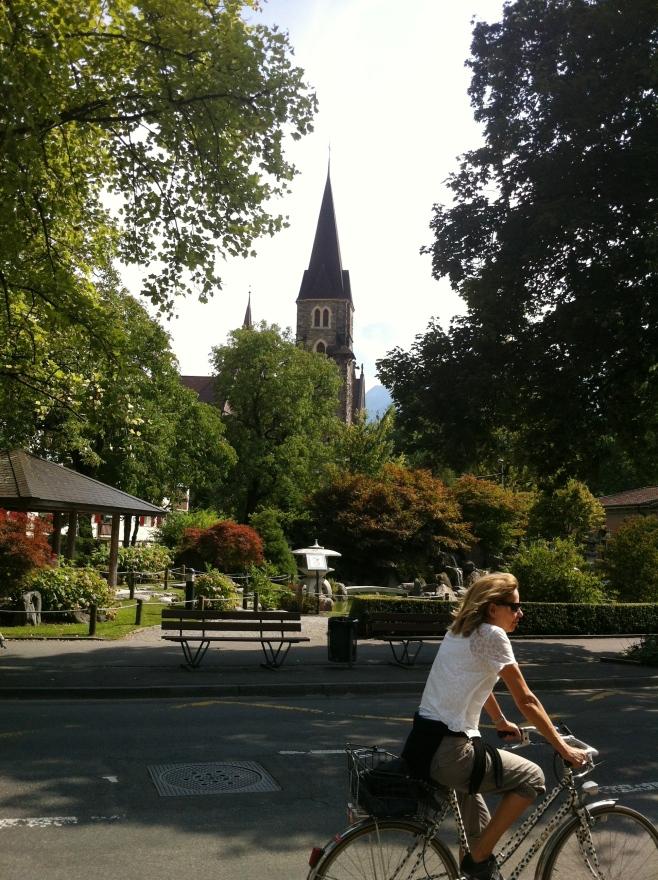 Biking in Interlaken