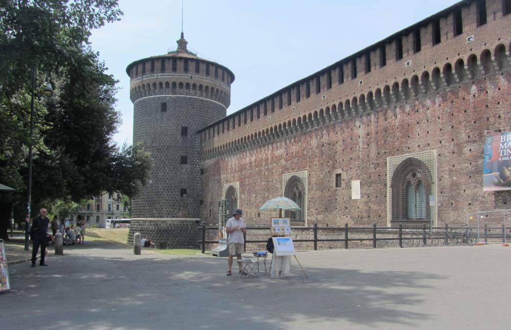 The Sforza Castle
