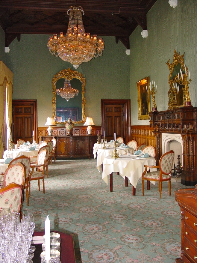 King George Ding Room at Ashford Castle