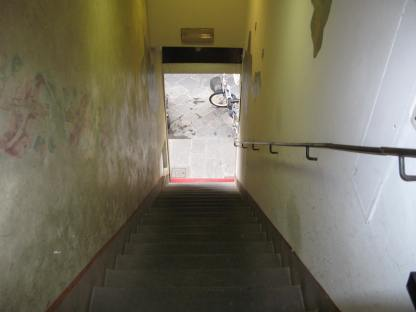 The Steps to Hotel Davanzati