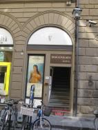 Entrance to Hotel Davanzati