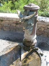 The Old Fountain Outside San Gimignano