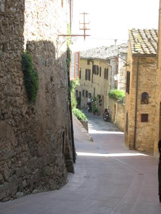 The Streets of San Gimignano