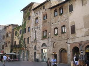 The Buildings of San Gimignano