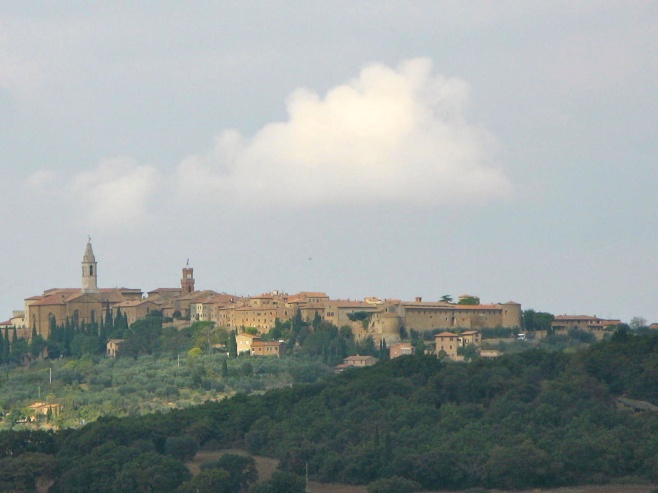 On Our Way to Pienza