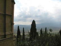 A View of the Countryside Around Pienza