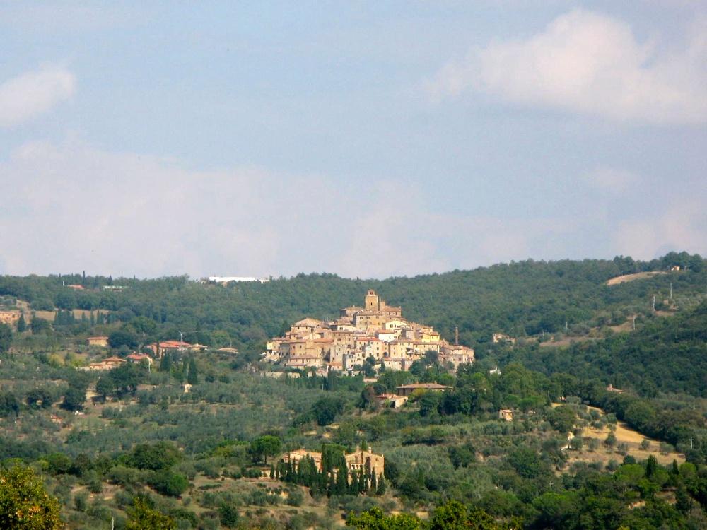Traipsing Through Tuscany- Montisi (1/6)