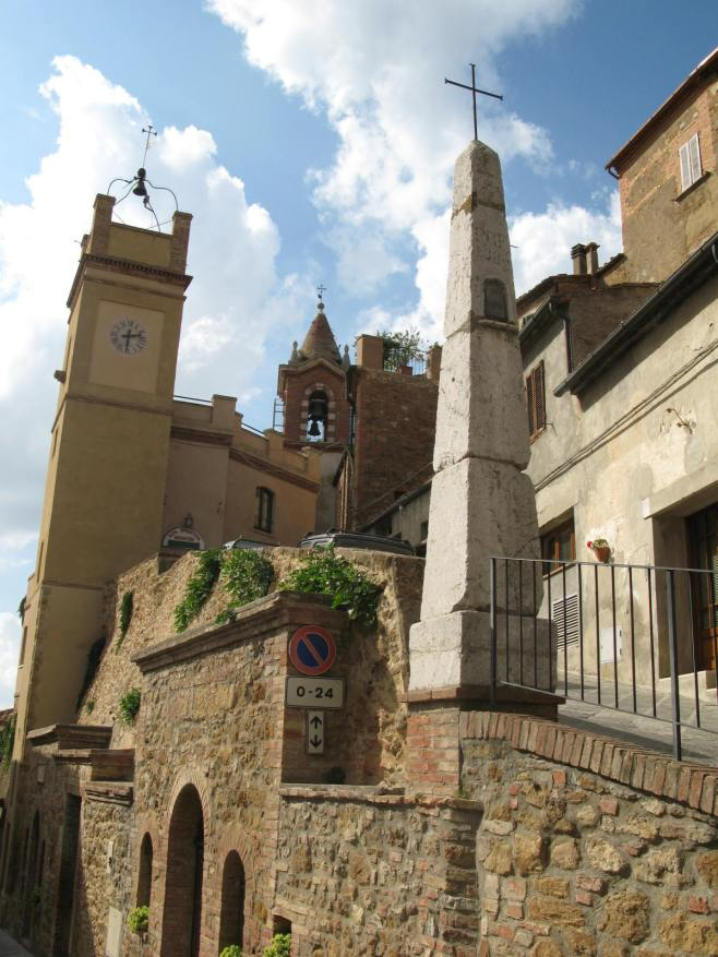 The Civic Tower and the Colonna, in Two Different Districts