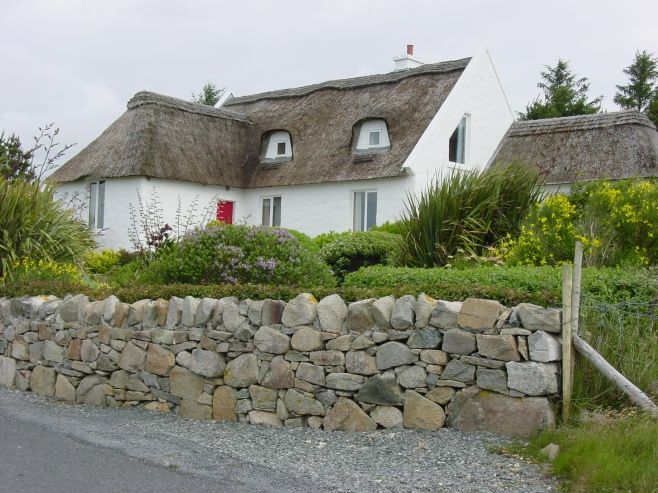 Thatched Roof Cottage Connemara, Ireland