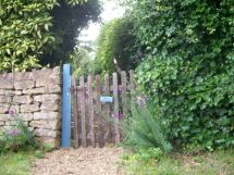 Oakes Garden Gate, Ebrington, UK