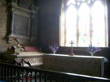 Inside St Eadburgha's Church