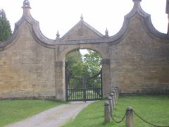 The gates at St James