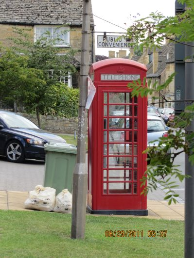 Love the English Phone Booths!