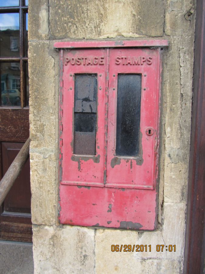 An Old Mail Box, Chipping Campden