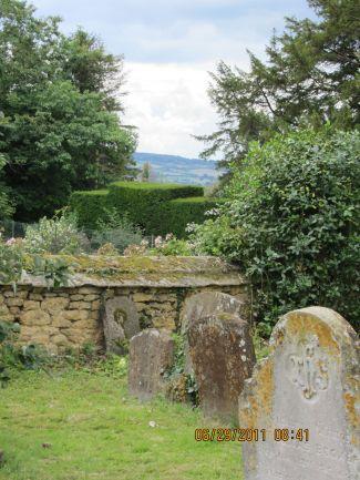 The Graveyard at St Eadburgha's
