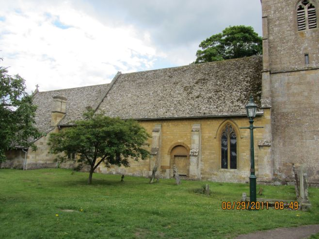 St Eadburgha's Church, Ebrington, UK