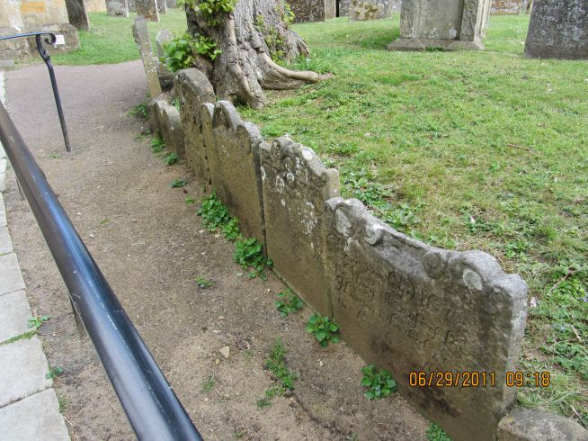 The Gravestone Path to St James Church