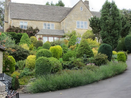 The Landscaped Garden in Snowshill
