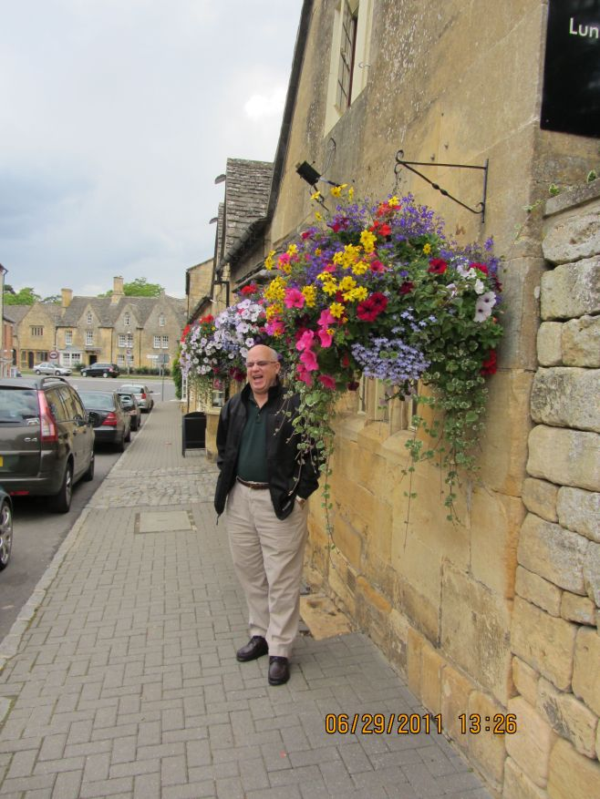 Flowers at the Eight Bells