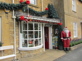 The Christmas Shop in Broadway, UK
