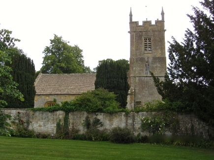 The Private Church at Stanway House