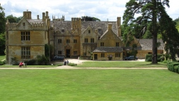 Stanway House from the Fountain