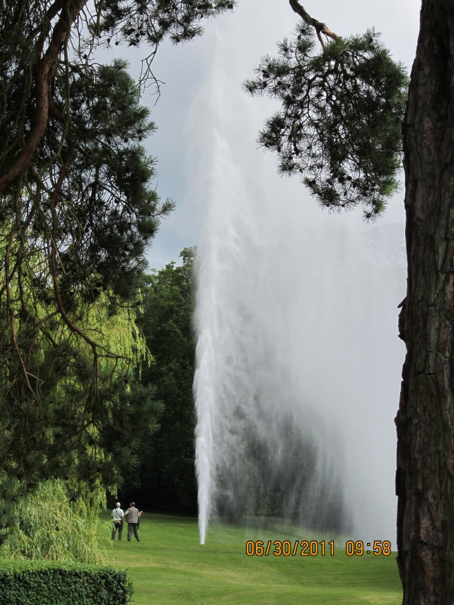 The Fountain at Stanway House, UK