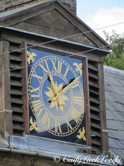 Clock on Kinlet Hall, Kinlet, UK