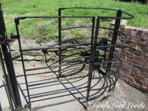 A Kissing Gate, St John's Church, Kinlet, UK