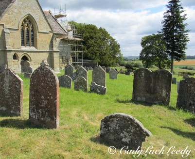 The Gravemarkers, St John's Church, Kinlet, UK